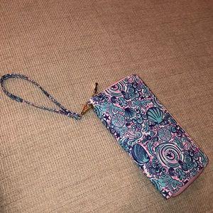 Big zip up wallet